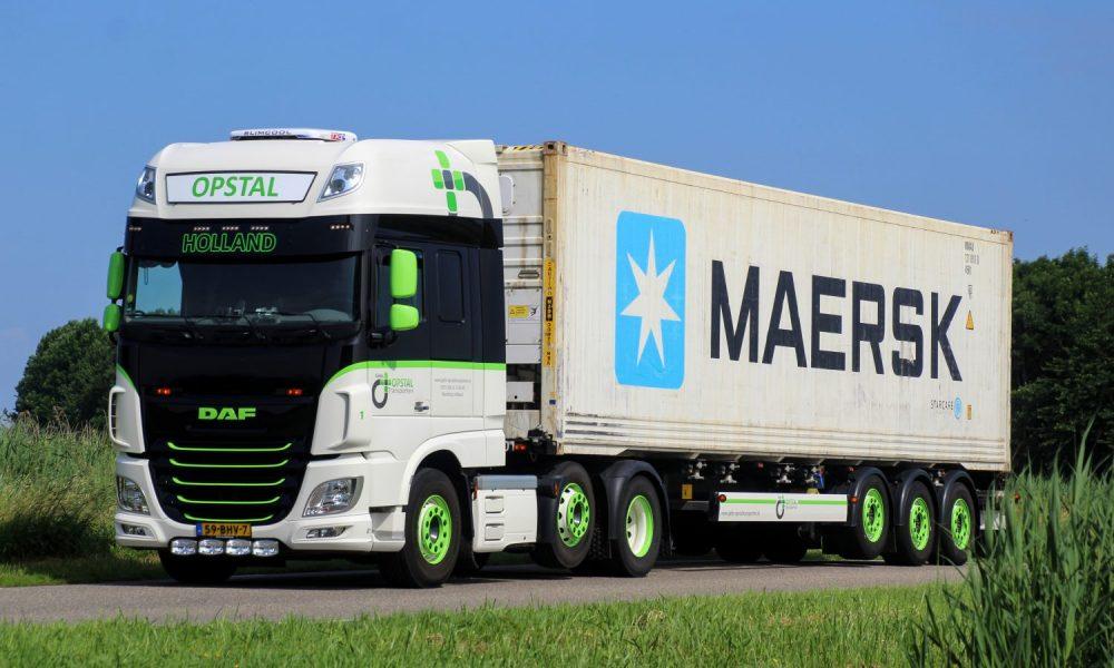 Container Transport tegel