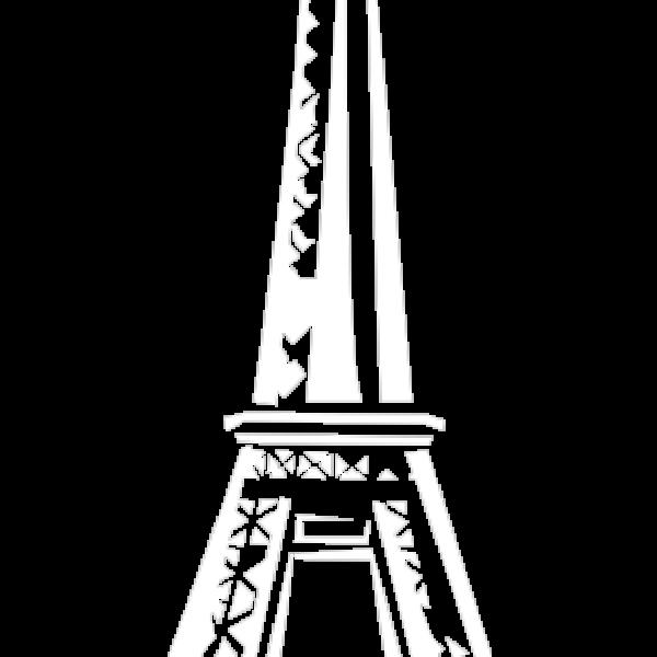Eiffeltoren wit